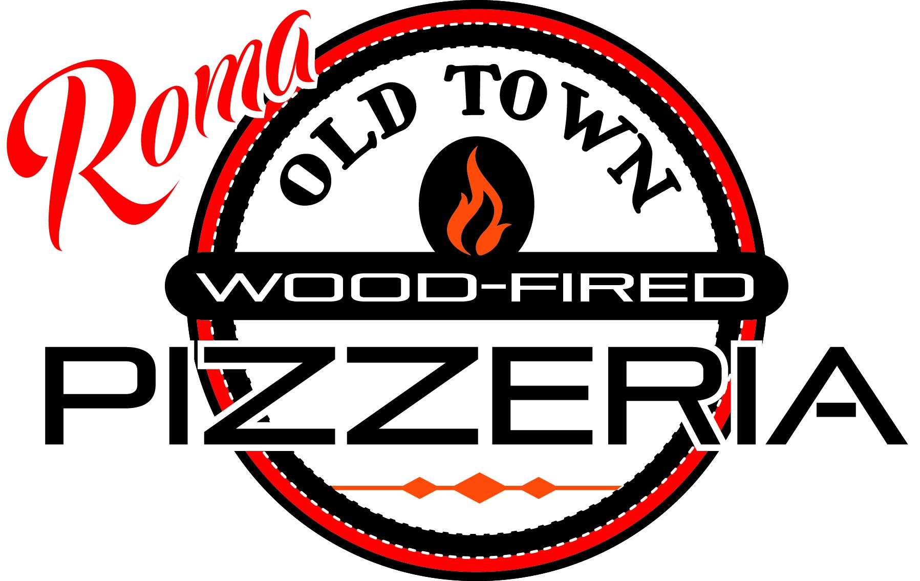Roma Old Town Wood-Fired Pizzeria Logo
