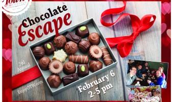 2016 Chocolate Escape Poster
