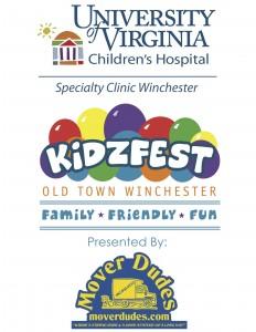 Kidzfest Logo 2015 UVA Childrens H & Mover Dudes