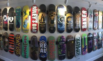 Pioneer Skate Shop Boards