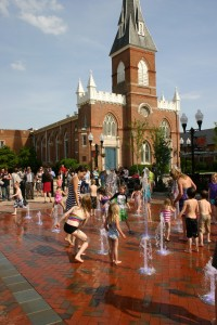 Splash Pad w:Church
