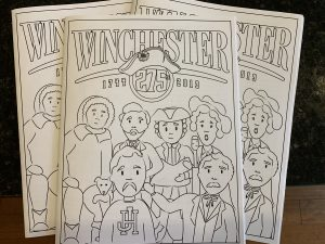 Winchester Coloring Books Now Available