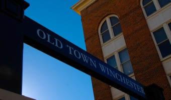 Old Town Winchester Sign